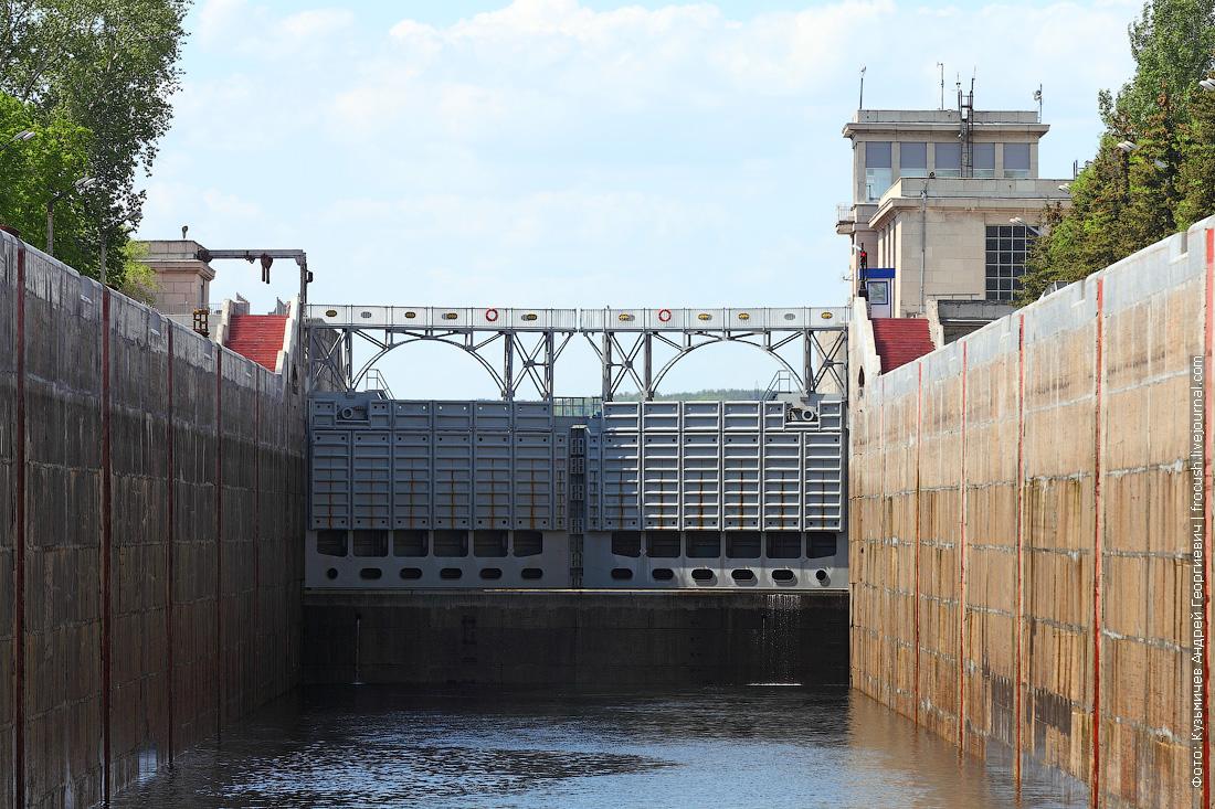 Жигулевский гидроузел шлюз отзыв о круизе на теплоходе Русь Великая