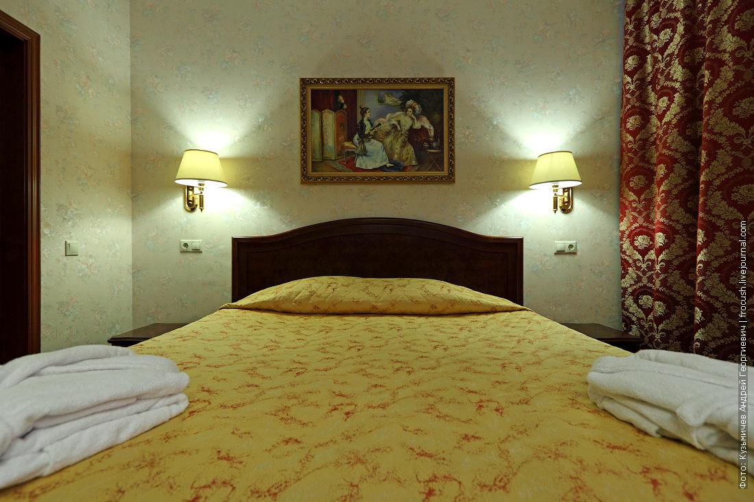 люкс спальня фото отель волжская ривьера в угличе