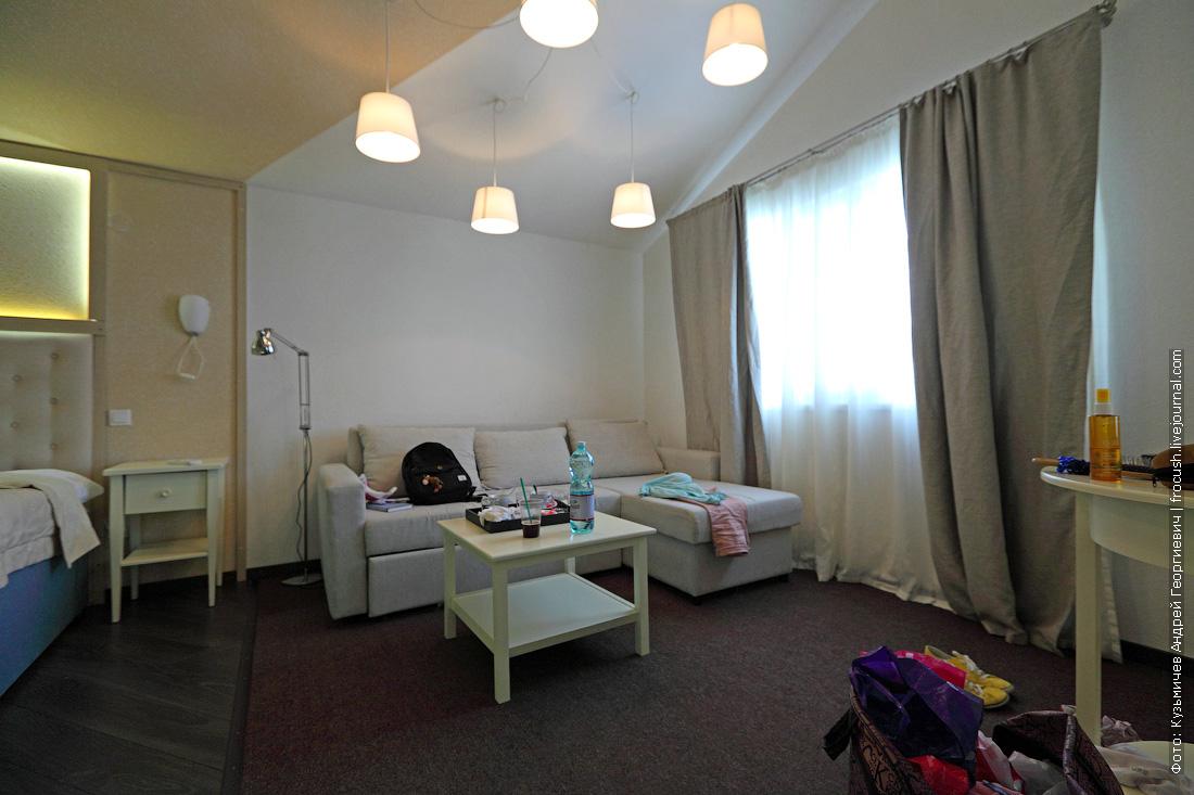 анапа семейный отель Dacha del Sol