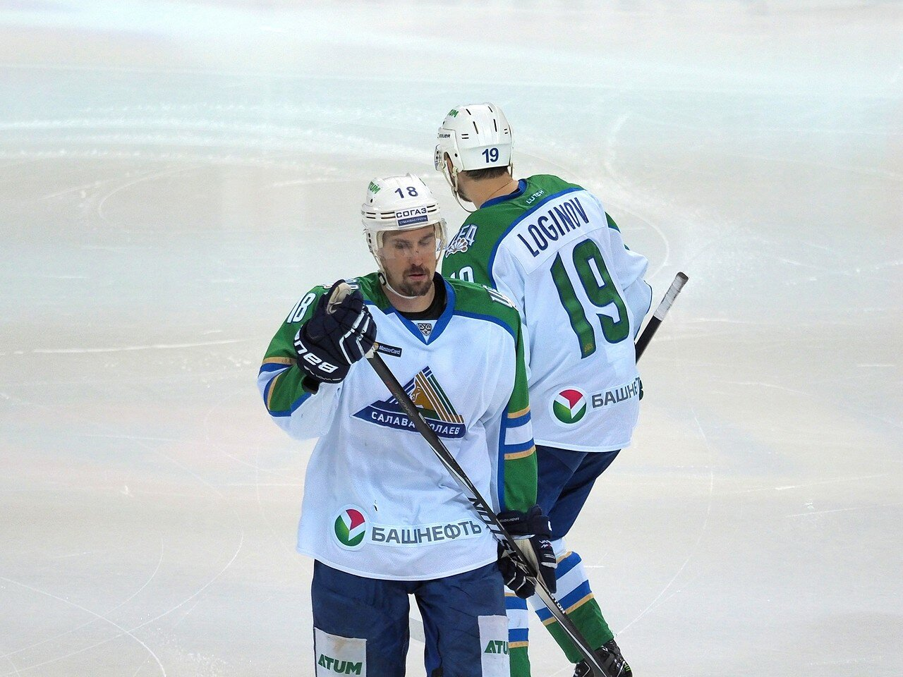 50Плей-офф 2016 Восток Финал Металлург - Салават Юлаев 25.03.2016