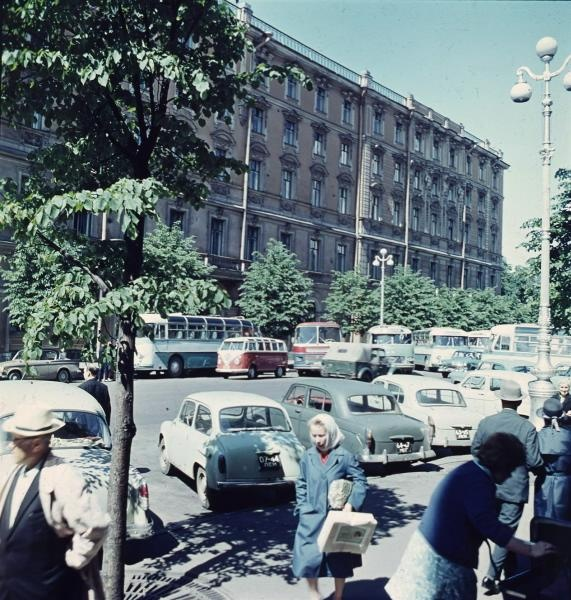 1960е Ленинград, Гостиница «Европейская». Тарасевич2.jpg