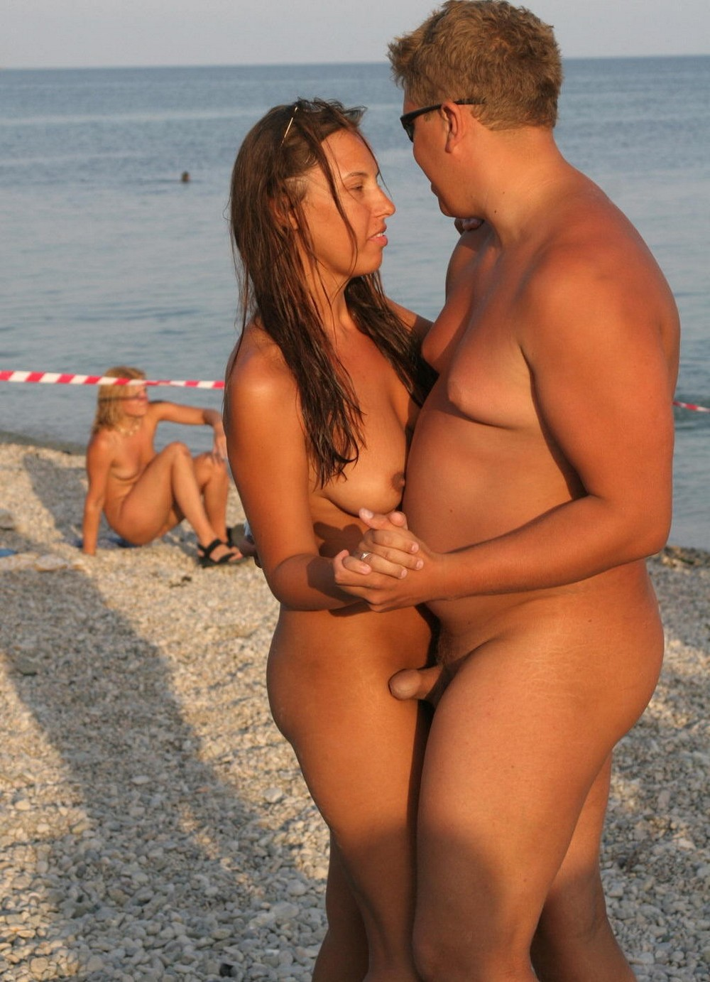 Hot nudist couples spy cam at the beach