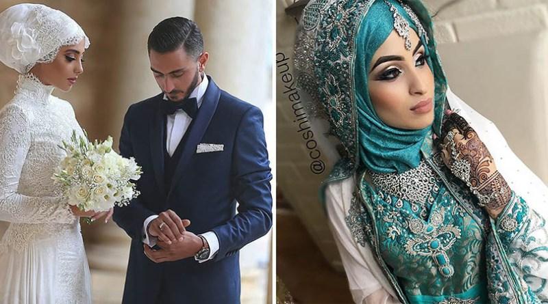 Красивые невесты в хиджабе