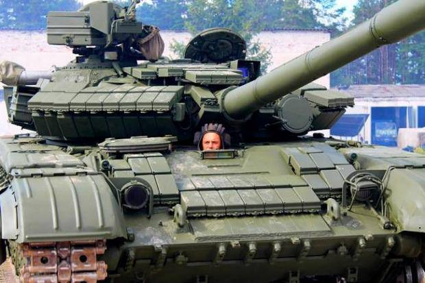 Конкурс танкистів ВСУ начался в Черниговской области (фото, видео)