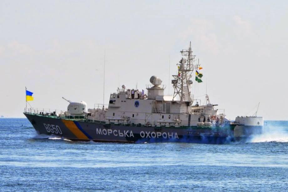 Корабли ЧФ РФ взяли на прицел корабль украинских пограничников в исключительной морзоне Украины