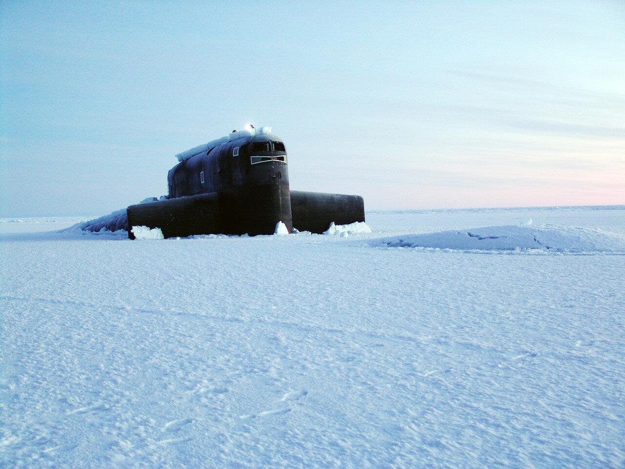 бурение льда в арктике