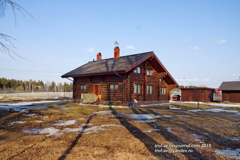 У Успенской церкви, Шарапово, МО