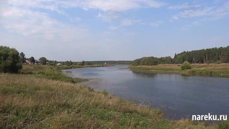 Село Верхняя Троица. Река Медведица