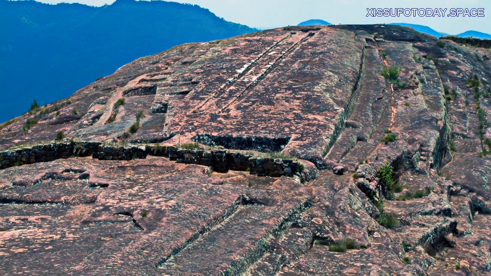 Megalithic complex in Peru
