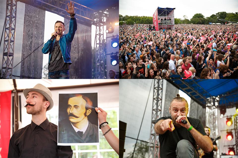 Фестиваль А-фест в Лошице. 80-тысяч человек, соревнования барберов, группа Brainstorm и другое...