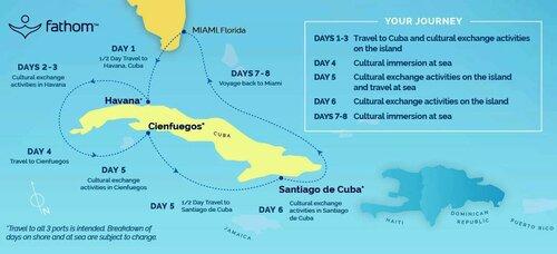 Недельный морской круиз из США на Кубу по цене от 700 долларов