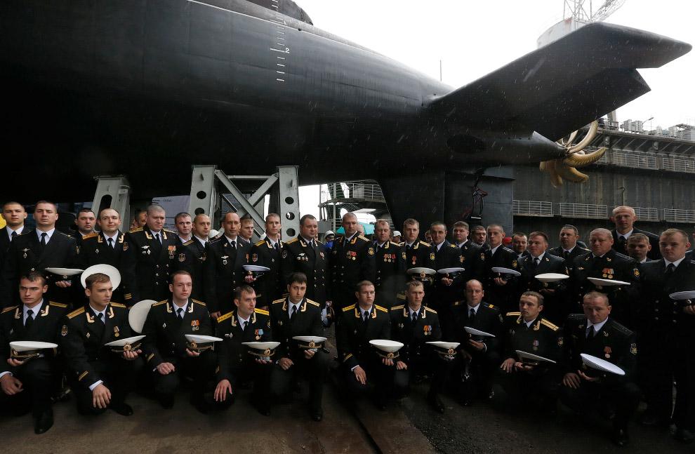 5. Военные учения в Балтийском море в Калининградской области. (Фото Alexei Druzhinin | Reuters