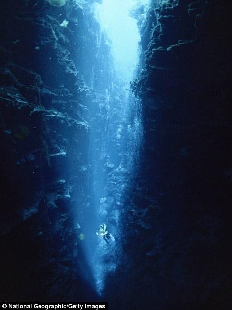 Пруды Пикканинни в Австралии. Их глубина достигает 90 метров.