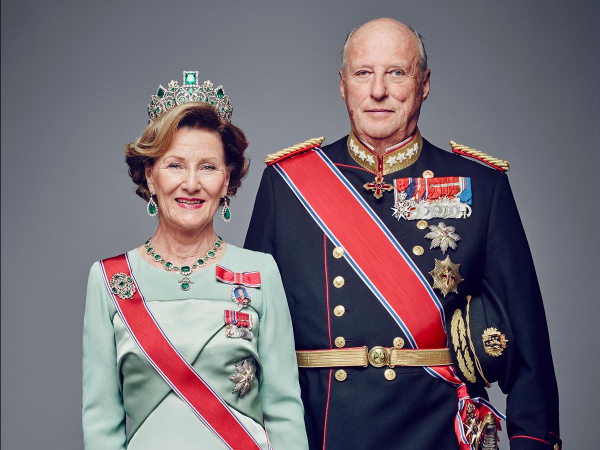 Соня Харальдсен, королева Норвегии   Встретила будущего мужа, тогда кронпринца