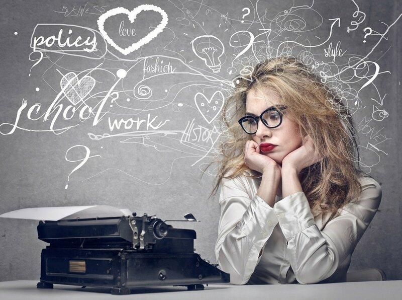 О чем написать статью, если в голове нет ни одной мысли? (копирайтерам)