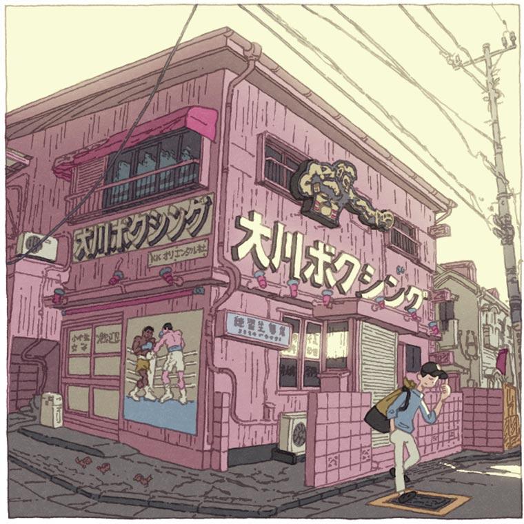 Tokyo 100 Views - Discover Tokyo through 100 beautiful illustrations