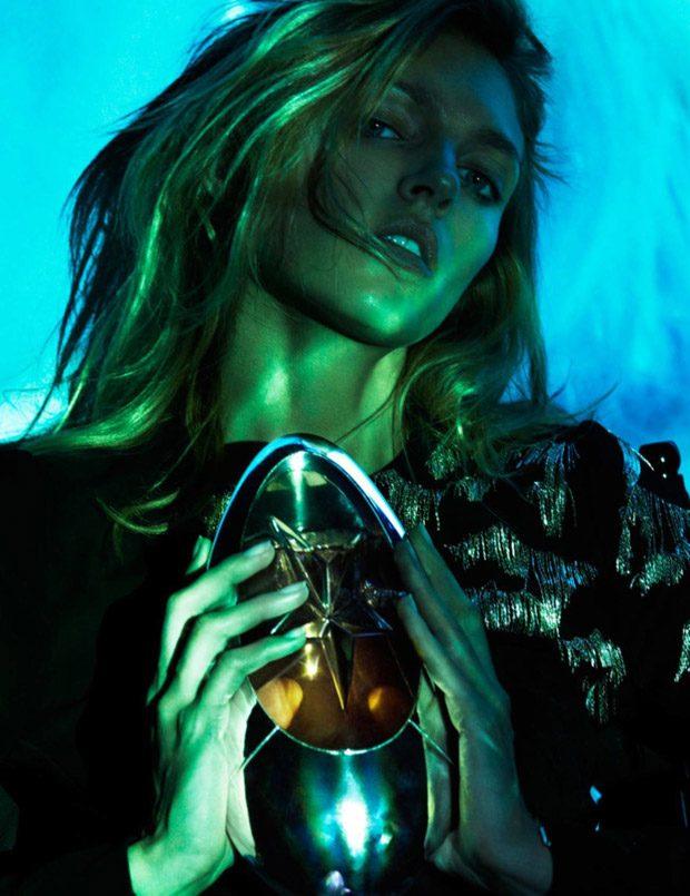 Supermodel Anja Rubik Graces the Pages of Vogue Paris August 2016