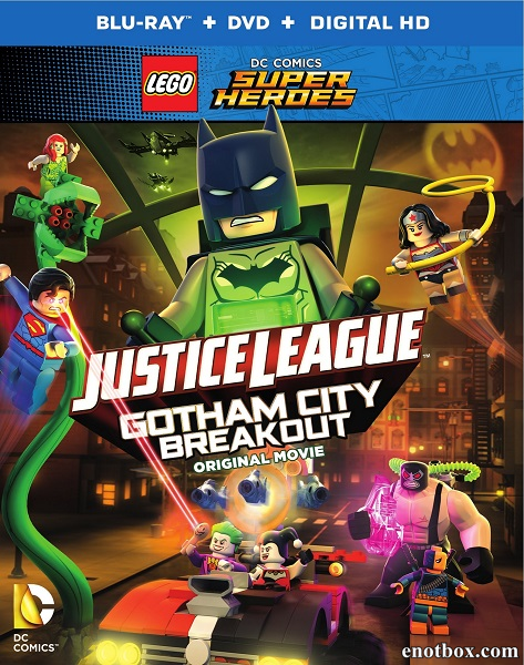 LEGO Лига справедливости: Прорыв Готэм-Сити / Lego DC Comics Superheroes: Justice League - Gotham City Breakout (2016/BDRip/HDRip)