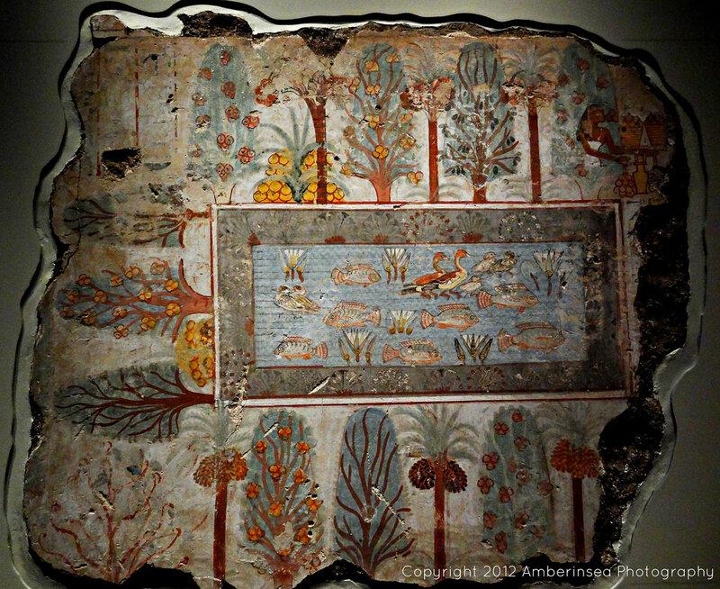 Сад. Росписи в гробнице Небамона.jpg