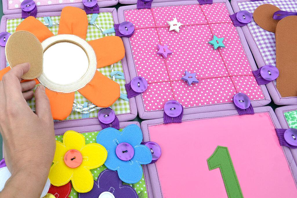кубики покрывало подушка комплект в детскую салатовый сиреневый (15).JPG