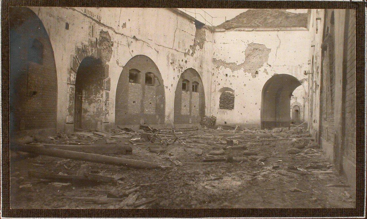 30. Вид разрушенной части форта № 1 группы Седласка