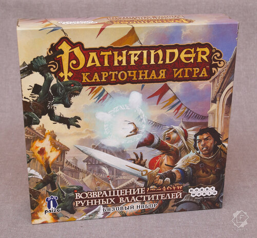 Настольная карточная приключенческая игра Pathfinder