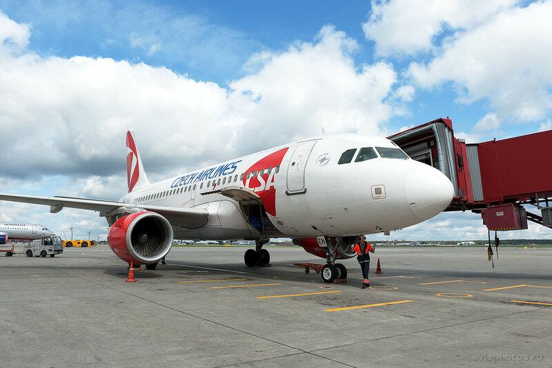 Airbus A319-112 (OK-NEN) CSA - Czech Airlines 111_D704052