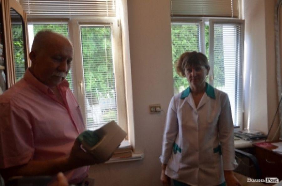 Инфекционная больница получила необходимый подарок в Луцке
