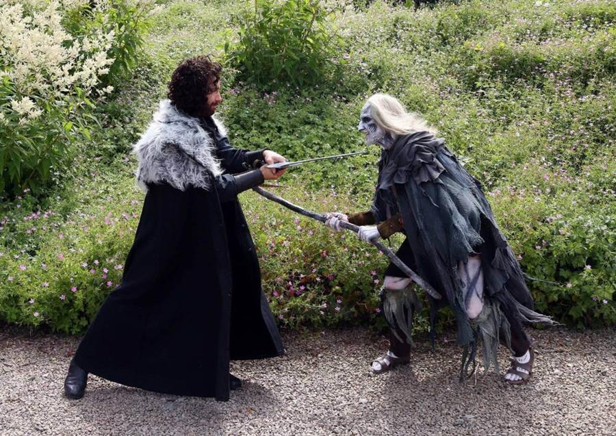 Фото свадьбы в стиле сериала «Игра престолов»
