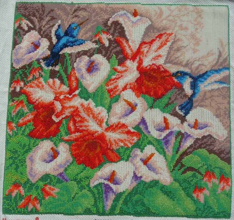 Альбом пользователя ChipMunck: Вышитая картина Цветы