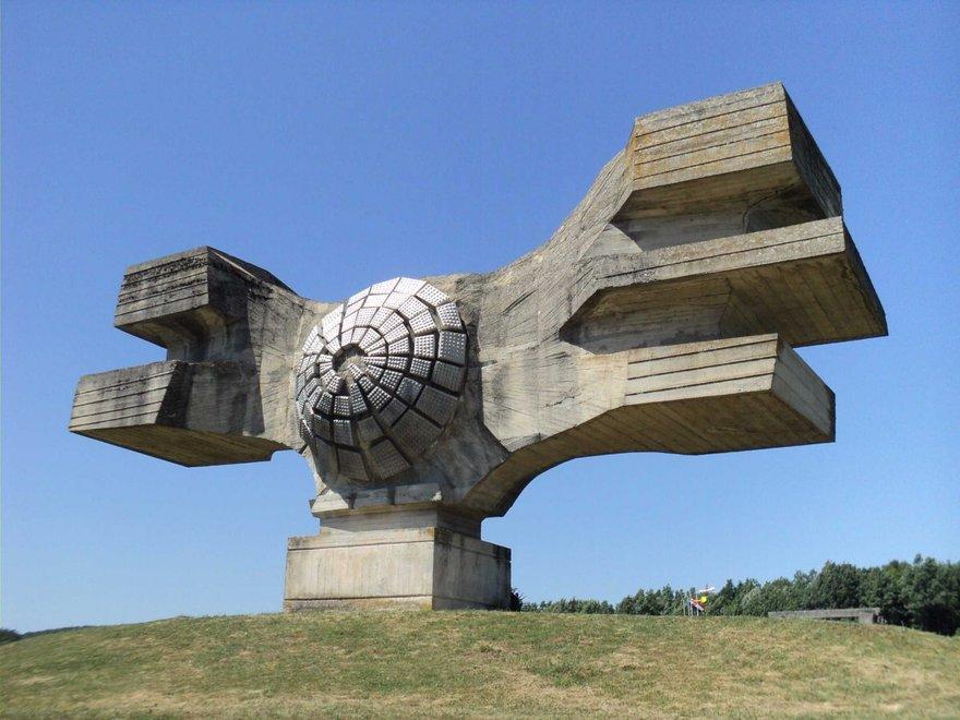 1. Памятник революции (Хорватия) Создание данного монумента было посвящено жертвам Второй мировой во