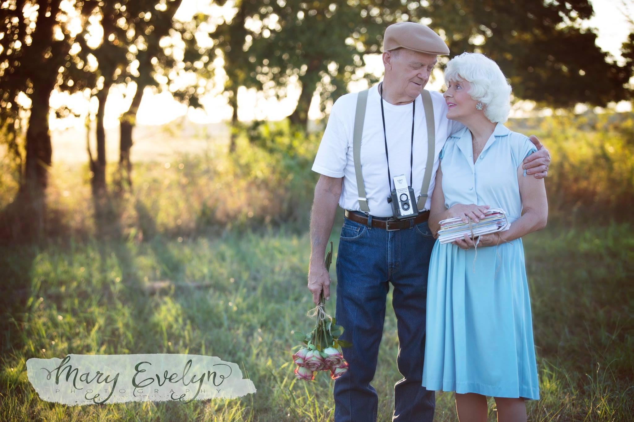 У этих влюбленных, которые вместе уже 57 лет, свой «Дневник памяти»