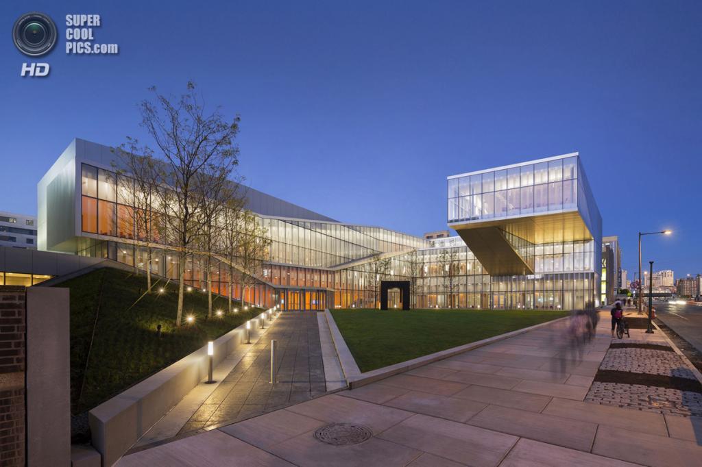 Центр нанотехнологий им. Кришны Сингха (9 фото)