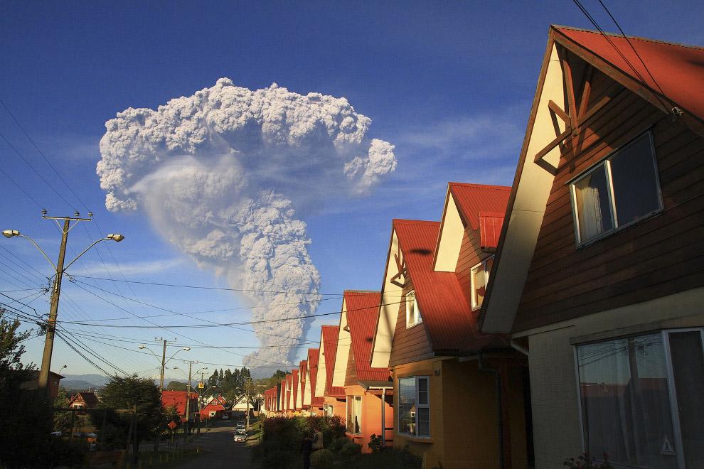 3. Вулкан Кальбуко находится на территории Национального заповедника Льянкиуэ в области Лос-Лаг