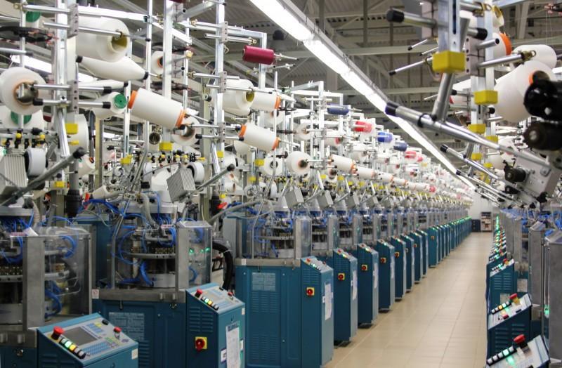 Как выглядит производство колготок на фабрике