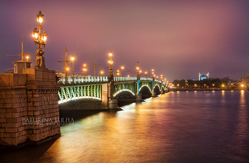 Троицкий мост Troitsky Bridge