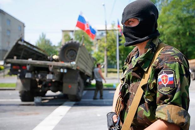 Российская Федерация усиленно перебрасывает военных наДонбасс