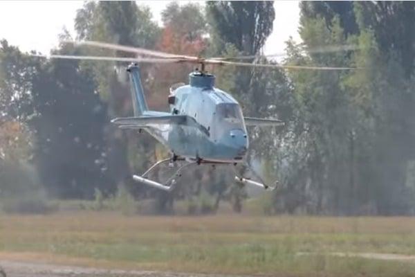 Украинский «высокоскоростной» вертолет совершил 1-ый полет