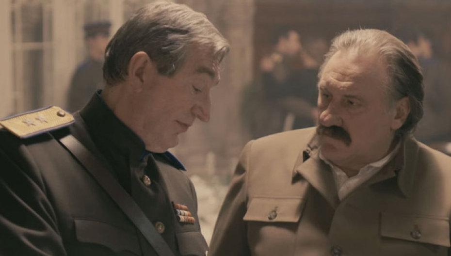 Депардье вобразе Сталина напугал французов