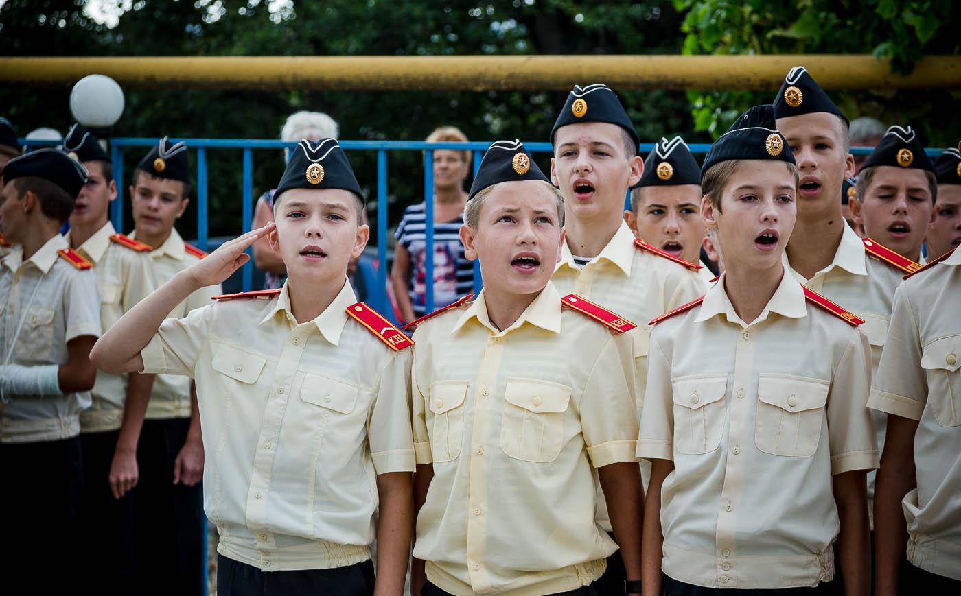 Кадетская школа Анапы фото