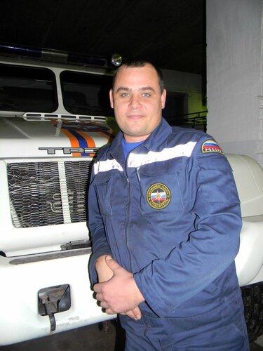 Алексей Захарченко, спасатель