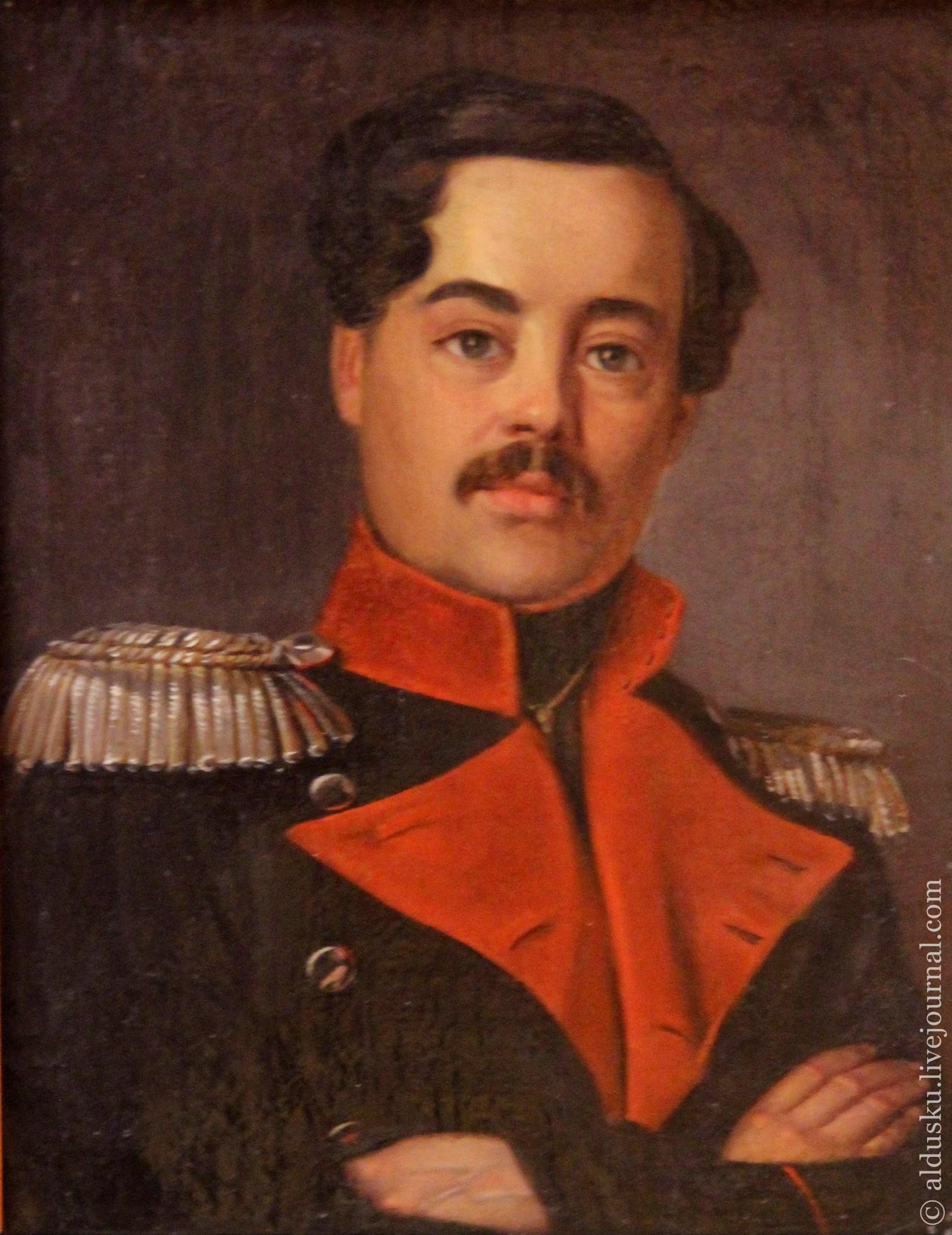 Гагарин Г.Г. (1810–1893) Портрет Сверчкова Д.Д. 1850. Холст, масло