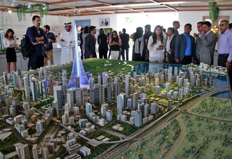 В Дубае начали строительство фантастического фаллоса рекордной высоты