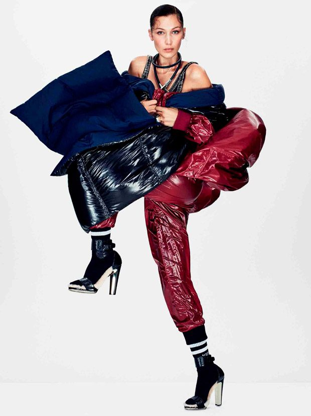 Bella Hadid Stars in American Glamour September 2016 Cover Story