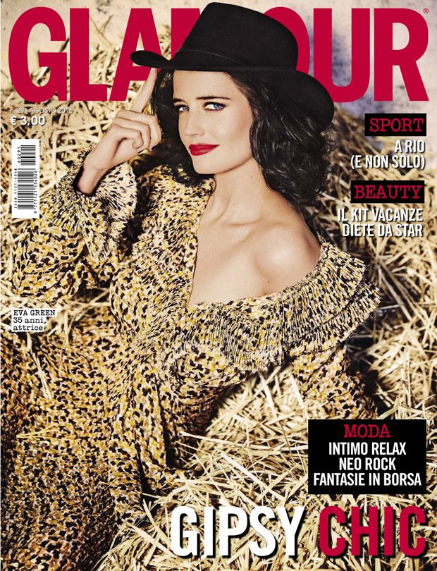 Miss Peregrine's Home for Peculiar Children star Eva Green takes the cover story of Glamour Italia &