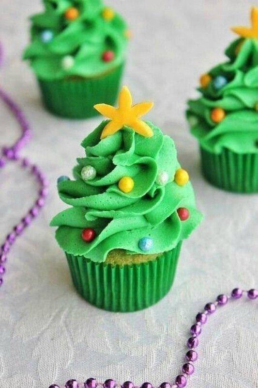 Вкусные новогодние ёлки