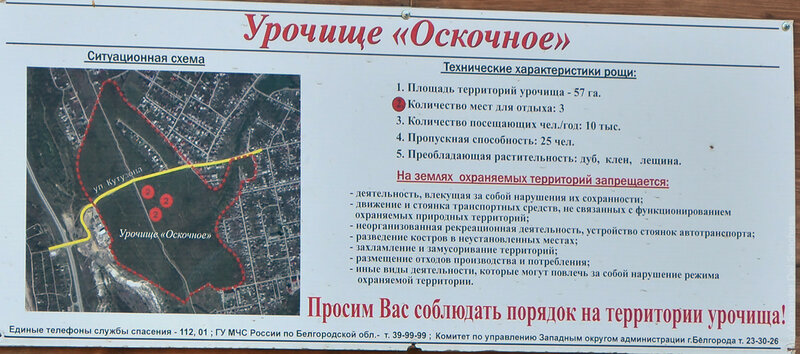 Урочище Оскочное, Белгород, фото Sanchess, 2016