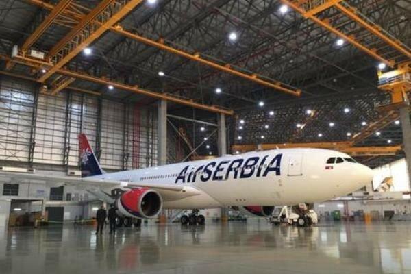 Сербия, авиация, рейс в Нью-Йорк