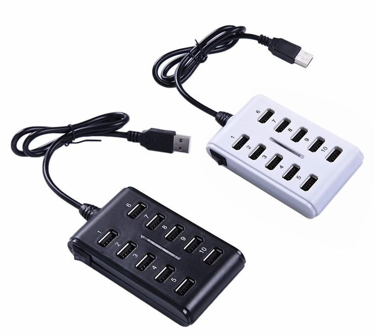 10-портовый USB Адаптер