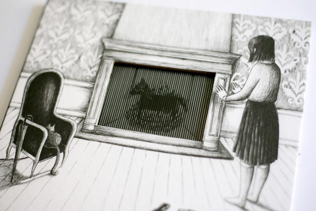 """Livro interativo """"Vento"""" e feito com tecnicas que precederam o cinema"""
